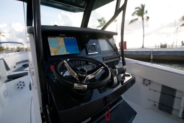 electronic boat console